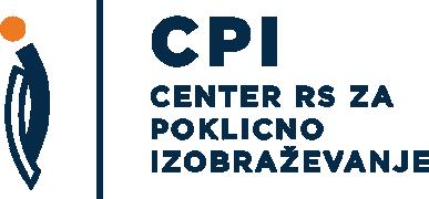 Logotip Center RS za poklicno izobraževanje