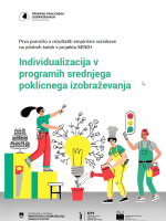 Individualizacija v programih poklicnega strokovnega izobraževanja