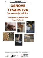 Osnove lesarstva - Spoznavanje poklica in delovnega mesta