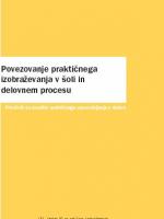 Povezovanje praktičnega izobraževanja v šoli in delovnem procesu