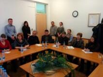 Udeleženci študijskega obiska delegacije iz Moldavije na CPI