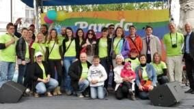 Skupinska slika udeležencev Parade učenja 2014 v Ljubljani