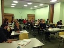 Udeleženci informativnega dneva Dvig poklicnih kompetenc