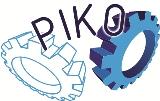 Logotip tekmovanja PIKO (projekcije in kotiranje)