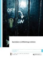 Spremljava certifikatnega sistema