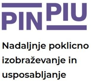 Logotip projekta PIN PIU, Nadaljnje poklicno izobraževanje in usposabljanje
