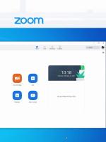 ZOOM - Osnovno okno in možnosti programa ZOOM