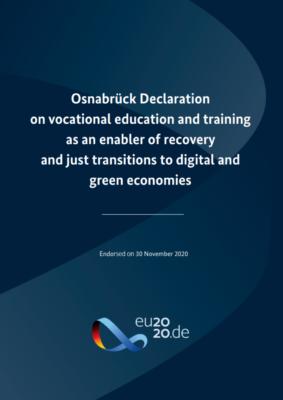 Osnabrüška deklaracija o poklicnem izobraževanju in usposabljanju