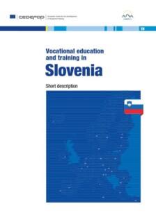 Naslovnica publikacije Vocational Educationa and Training in Slovenia